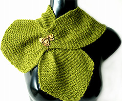 knitted-garter-stitch-scarf