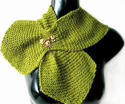 knitted-garter-stitch-scarf